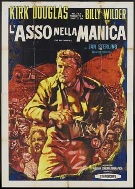 Ace in the Hole - 27 x 40 Movie Poster - Italian Style A