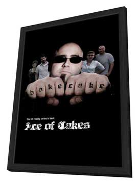 Ace of Cakes - 11 x 17 TV Poster - Style A - in Deluxe Wood Frame