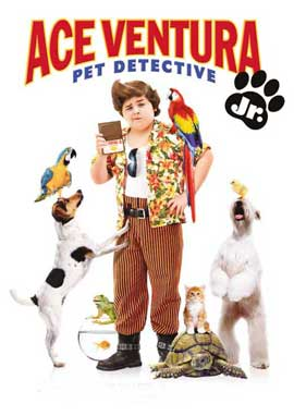 Ace Ventura: Pet Detective Jr. (TV) - 27 x 40 Movie Poster - Danish Style A