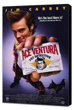 Ace Ventura: Pet Detective - 11 x 17 Movie Poster - Style A - Museum Wrapped Canvas