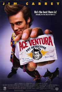 Ace Ventura: Pet Detective - 43 x 62 Movie Poster - Bus Shelter Style A