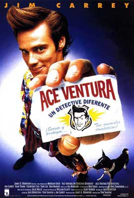 Ace Ventura: Pet Detective - 11 x 17 Movie Poster - Spanish Style A
