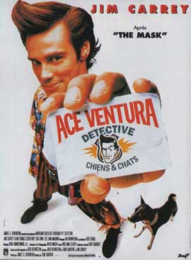 Ace Ventura: Pet Detective - 11 x 17 Movie Poster - French Style A