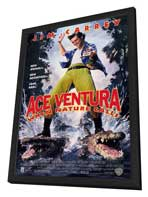 Ace Ventura: When Nature Calls - 11 x 17 Movie Poster - Style A - in Deluxe Wood Frame