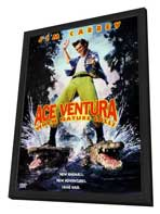 Ace Ventura: When Nature Calls - 27 x 40 Movie Poster - Style B - in Deluxe Wood Frame