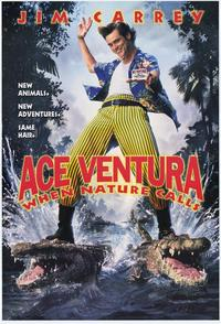 Ace Ventura: When Nature Calls - 43 x 62 Movie Poster - Bus Shelter Style A