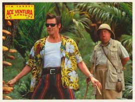Ace Ventura: When Nature Calls - 11 x 14 Poster French Style K