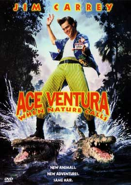 Ace Ventura: When Nature Calls - 11 x 17 Movie Poster - Style B