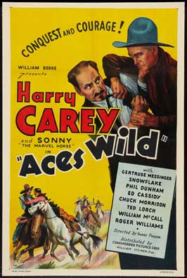 Aces Wild - 11 x 17 Movie Poster - Style A