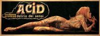 Acid - delirio dei sensi - 20 x 60 Movie Poster - Italian Style A