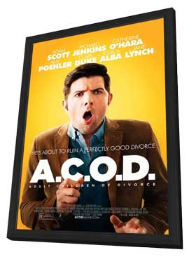 A.C.O.D. - 11 x 17 Movie Poster - Style A - in Deluxe Wood Frame