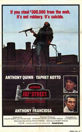 Across 110th Street - 11 x 17 Movie Poster - Style B