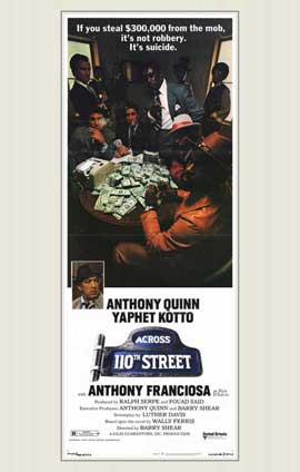 Across 110th Street - 11 x 17 Movie Poster - Style C