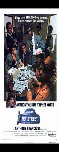 Across 110th Street - 14 x 36 Movie Poster - Insert Style A
