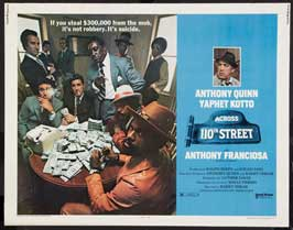 Across 110th Street - 11 x 14 Movie Poster - Style A