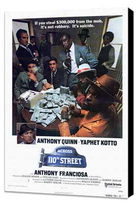 Across 110th Street - 27 x 40 Movie Poster - Style A - Museum Wrapped Canvas