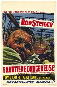 Across the Bridge - 11 x 17 Movie Poster - Belgian Style A