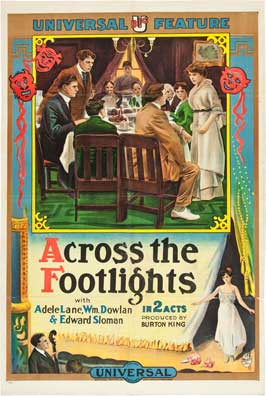 Across the Footlights - 11 x 17 Movie Poster - Style A