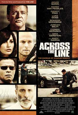 Across the Line: The Exodus of Charlie Wright - 27 x 40 Movie Poster - Style A