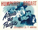 Across the Pacific - 22 x 28 Movie Poster - Half Sheet Style A