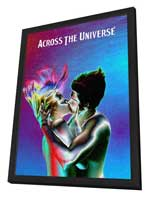 Across the Universe - 11 x 17 Movie Poster - Style J - in Deluxe Wood Frame