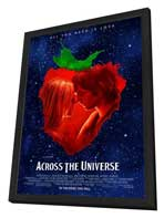 Across the Universe - 27 x 40 Movie Poster - Style A - in Deluxe Wood Frame