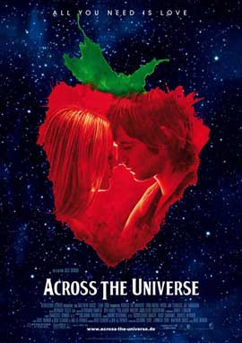 Across the Universe - 11 x 17 Movie Poster - German Style C