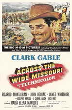 Across the Wide Missouri - 11 x 17 Movie Poster - Style B