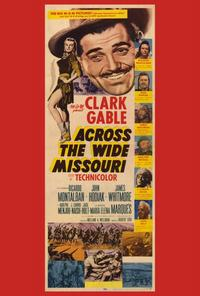 Across the Wide Missouri - 14 x 36 Movie Poster - Insert Style A