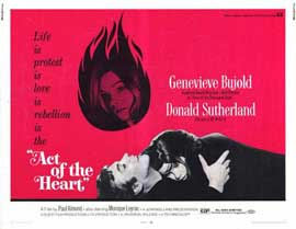 Act of the Heart - 11 x 14 Movie Poster - Style A