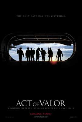 Act of Valor - 11 x 17 Movie Poster - Style A