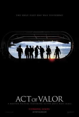 Act of Valor - 27 x 40 Movie Poster - Style A