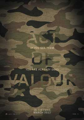 Act of Valor - 27 x 40 Movie Poster - Style B