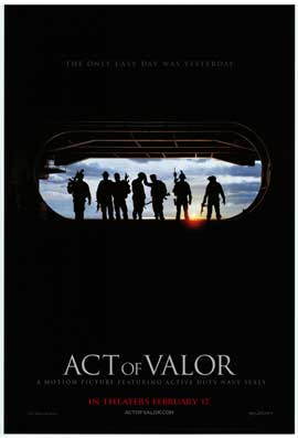 Act of Valor - DS 1 Sheet Movie Poster - Style A