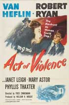 Act of Violence - 11 x 17 Movie Poster - Style A