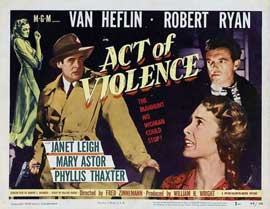 Act of Violence - 11 x 17 Movie Poster - UK Style A