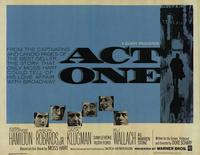 Act One - 22 x 28 Movie Poster - Half Sheet Style A