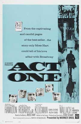 Act One - 11 x 17 Movie Poster - Style A
