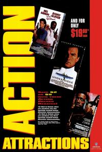 Action Attractions - 11 x 17 Movie Poster - Style A