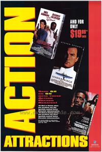 Action Attractions - 27 x 40 Movie Poster - Style A
