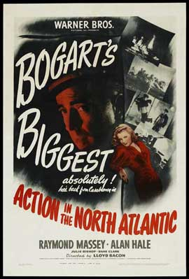 Action in the North Atlantic - 27 x 40 Movie Poster - Style A