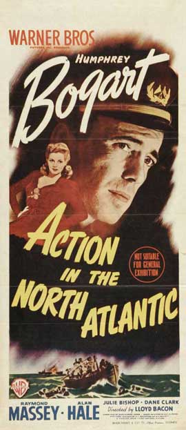 Action in the North Atlantic - 14 x 36 Movie Poster - Insert Style A