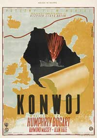 Action in the North Atlantic - 11 x 17 Movie Poster - Polish Style A
