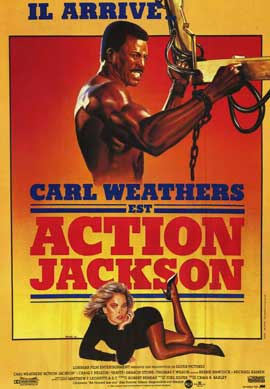 Action Jackson - 11 x 17 Movie Poster - French Style A