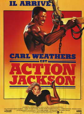 Action Jackson - 27 x 40 Movie Poster - French Style A