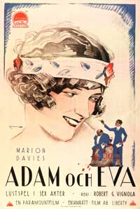 Adam and Eva - 11 x 17 Movie Poster - Swedish Style A