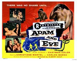 Adam and Eve - 11 x 14 Movie Poster - Style C