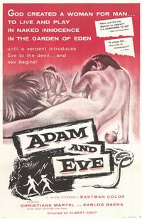Adam and Eve - 11 x 17 Movie Poster - Style B