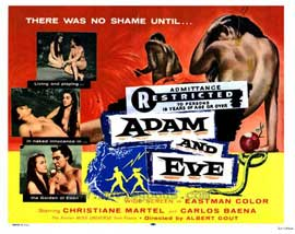 Adam and Eve - 27 x 40 Movie Poster - Style A