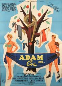 Adam est Eve - 11 x 17 Movie Poster - Style A